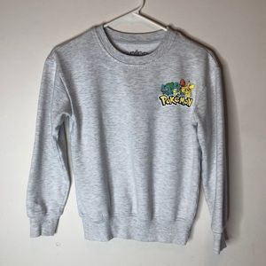 Vintage Pokémon Grey Sweatshirt S